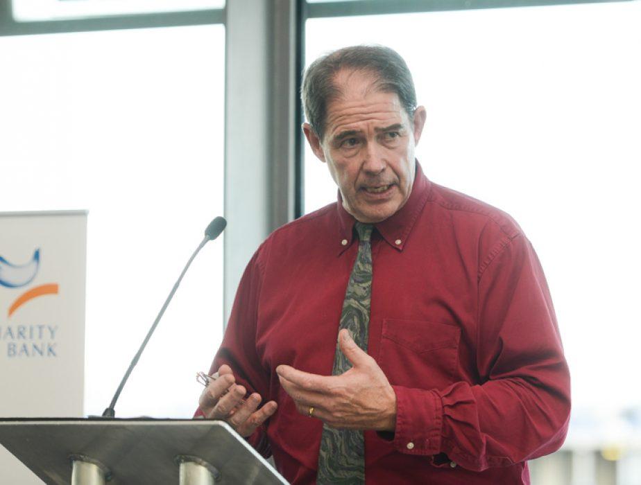 Jonathon Porritt speaks at Charity Bank's 2014 Open Meeting