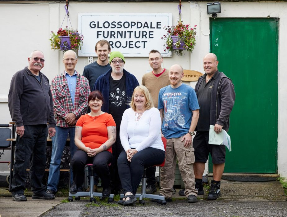 Glossopdale Furniture Project: providing the local community with affordable furniture
