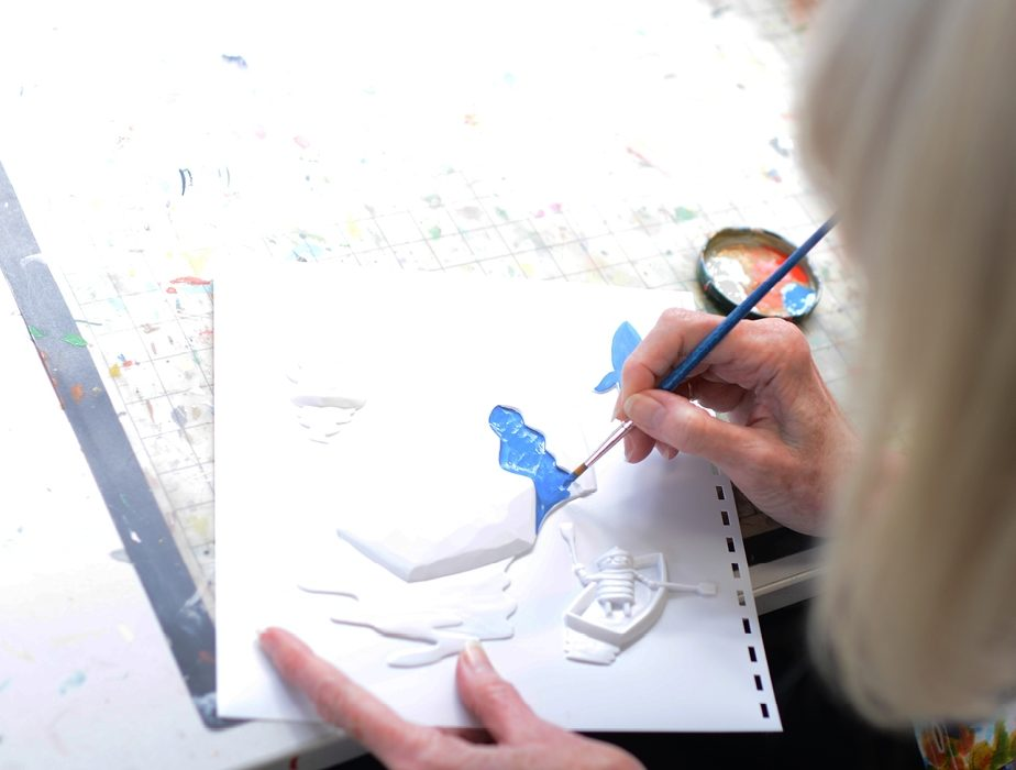Living Paintings: bringing art and stories to life for blind people
