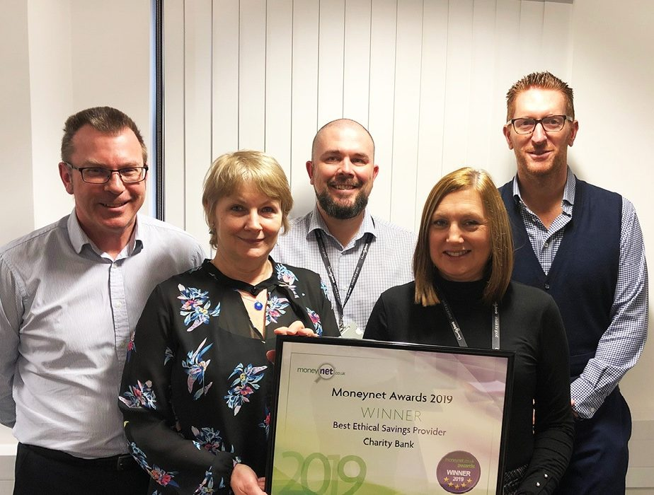 Charity Bank awarded Best Ethical Savings Provider