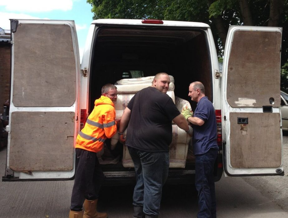 Reusing furniture, resettling people and restoring communities - loan secures NewStarts future