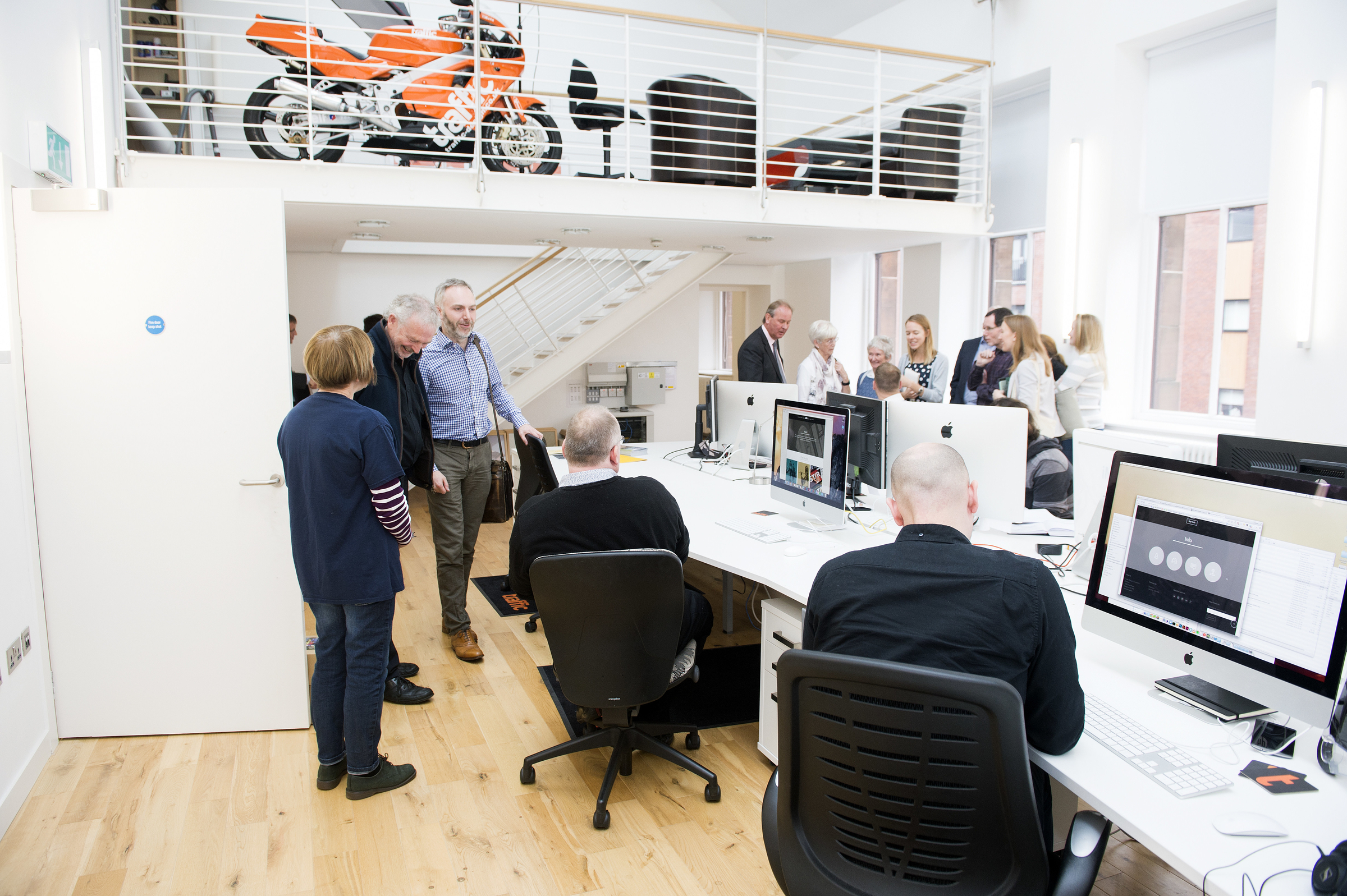 Govan Workspace One Of The Businesses Renting Space