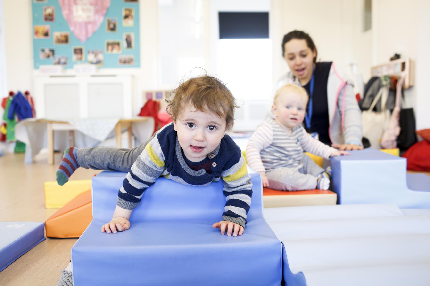 Children at Shofar Daycare Nursery